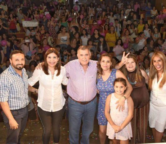 """Osvaldo Jaldo participó del acto del espacio """"Política con fuerza de mujer"""""""
